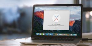 На Apple MacBook c Mac OS X
