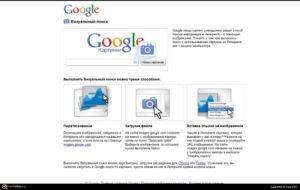 Сервис images.google.com, поиск по картинке
