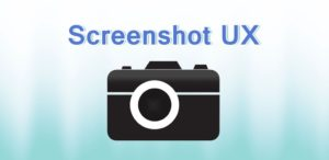 Screenshot UX